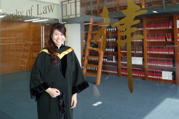 Miss Leanne Tse, recipient of the Esther Yewpick Lee Millennium Scholarship 2012 will pursue a postgraduate degree, Bachelor of Civil Law, at the University of Oxford.