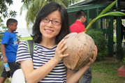 Miss Yang Yanan has been awarded Paul M F Cheng East West Center Leadership Scholarship 2012 for participating in the Asia Pacific Leadership Programme offered by the East West Center in Honolulu.
