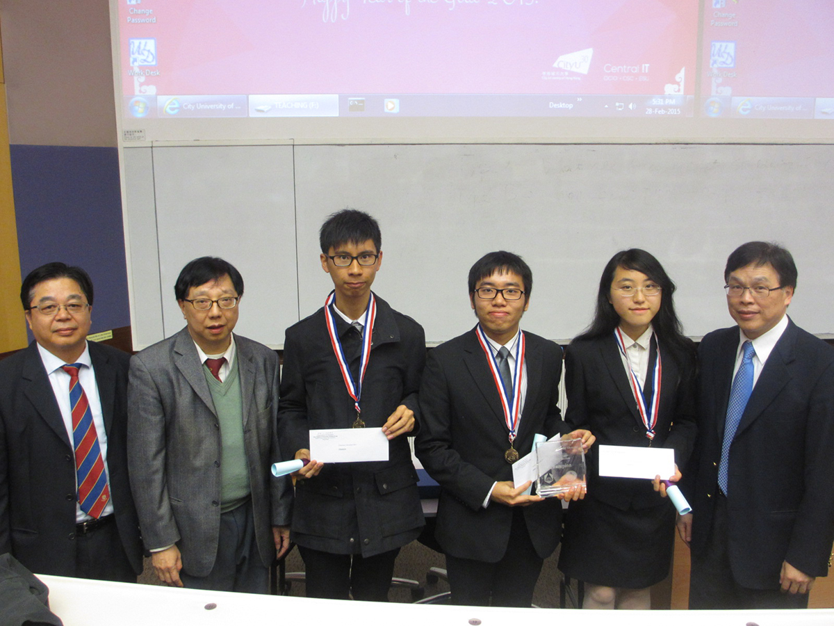 Photo taken after the competition