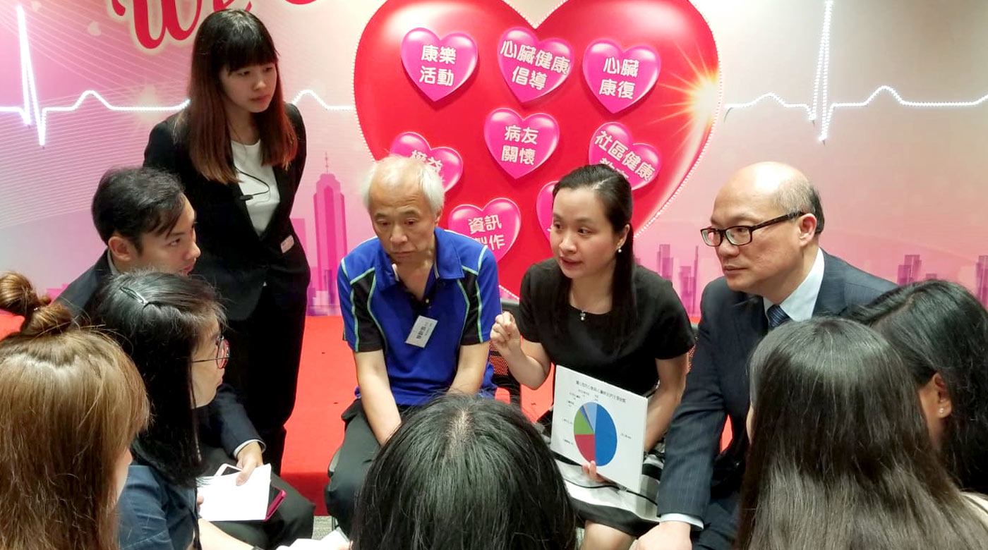 Professor Li promotes timely care-seeking for individuals with a high risk of acute myocardial infarction