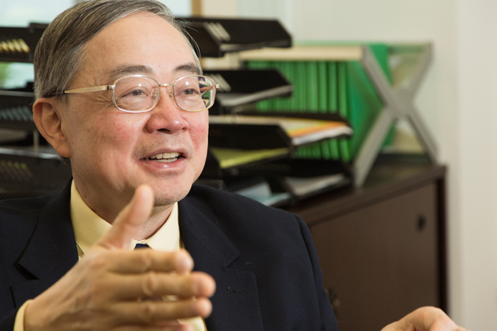 Prof. Gabriel Lau Ngar-cheung, Director of the Institute of Environment, Energy and Sustainability