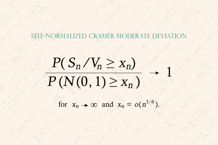 Self-Normalized Cramér-type Moderate Deviations