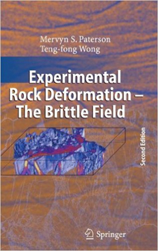Bookcover: Experimental Rock Deformation-- The Brittle Field