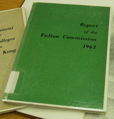Report of the Fulton Commission (1963)