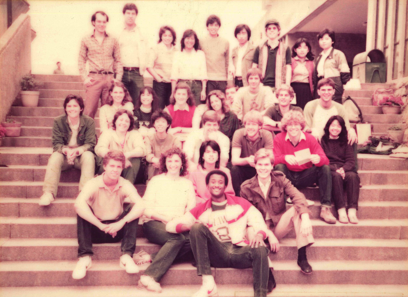 CUHK receives incoming exchange students (1987-88)
