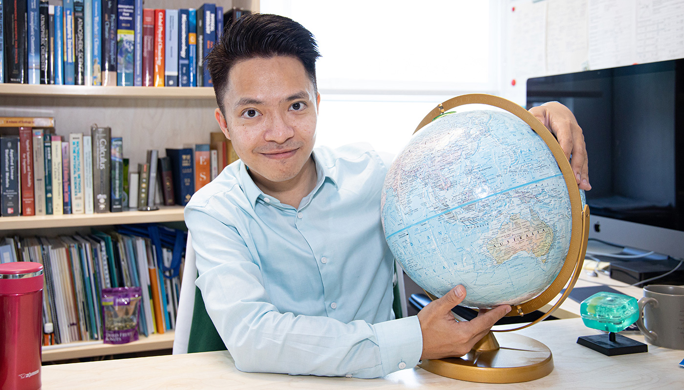 According to Professor Tai, global environmental issues are intricate yet interconnected