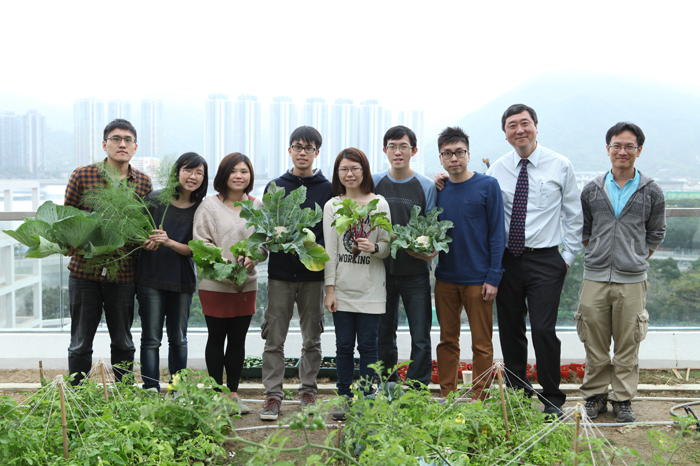 Happy Harvesters Cuhk Architecture Students Date With