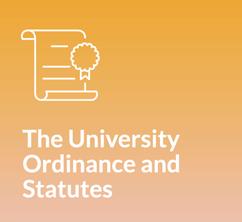 The University Ordinance and Statutes