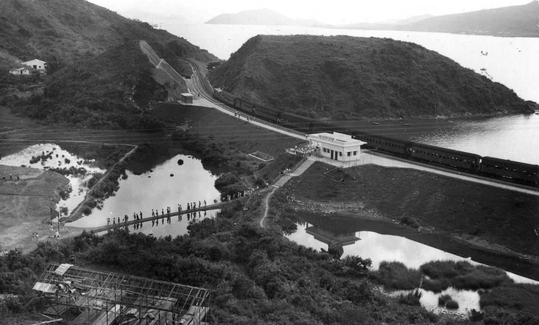 The Ma Liu Shui campus under construction (1956)