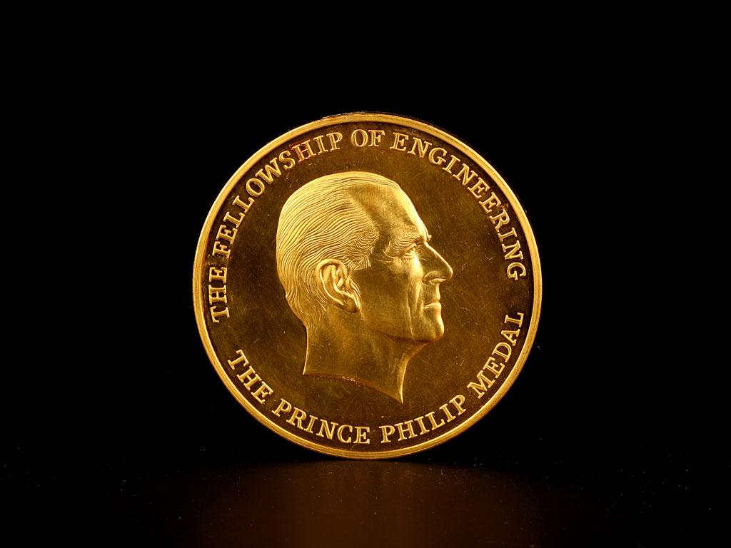 Professor Charles K. Kao's Prince Philip Medal (1996)